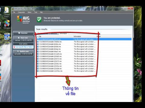 Hướng dẫn sử dụng phần mềm Free AVG 2011.avi
