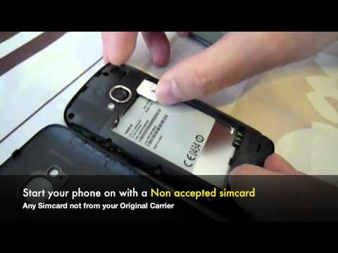 Unlock Lumia 800 - How to Unlock Nokia Lumia 800 Network by Sim Pin Unlock Code from Telus +