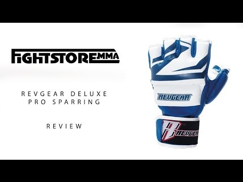 Revgear Deluxe Pro MMA Gloves Review By Cesar Gracie