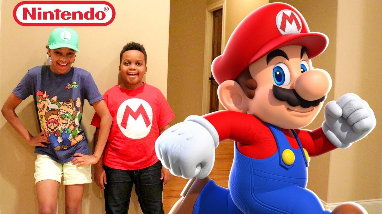 NEW NINTENDO 3DS XL MARIO SLIME vs Shiloh And Shasha - Onyx Kids