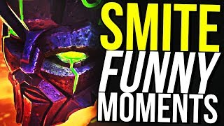 I'M NOT YOUR MEAT SHIELD! - SMITE FUNNY MOMENTS
