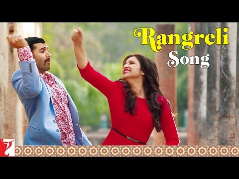 Rangreli - Song | Daawat-e-Ishq | Aditya Roy Kapoor | Parineeti Chopra
