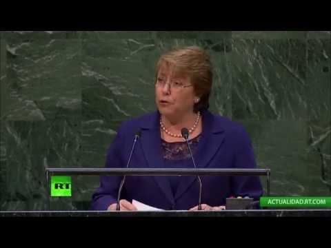 EN DIRECTO: Intervención de Michelle Bachelet ante la ONU