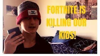 Fortnite is KILLING our kids! prank