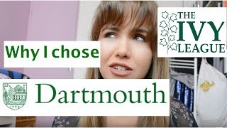 Why I chose Dartmouth College | D-Plan, Dimensions, Study Abroad, Greek Life etc.