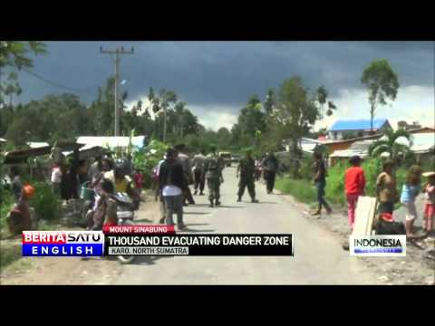 Villages Evacuated as Mount Sinabung Nears Eruption