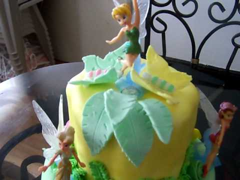 TINKERBELL ENCHANTED FOREST CAKE