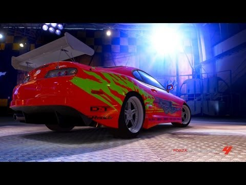 fast and furious cars in forza motorsport 4