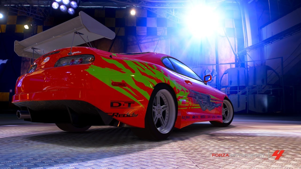 Fast and furious cars in forza motorsport 4 youtube - Virtual diva fast and furious 4 ...