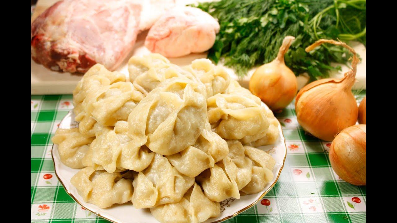 Манты из рубленой свинины рецепт