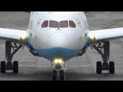 Xiamen 1st 787-8 departing KPAE. Aug.2014