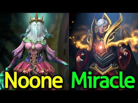 Miracle- [Invoker] vs Noone [Death Prophet] Dota 2 - Very High Skill