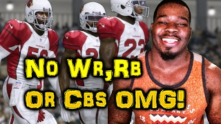 NO WR, RB and CBS OMG DRAFT CHAMPS Madden 17 !!! Madden NFL 17