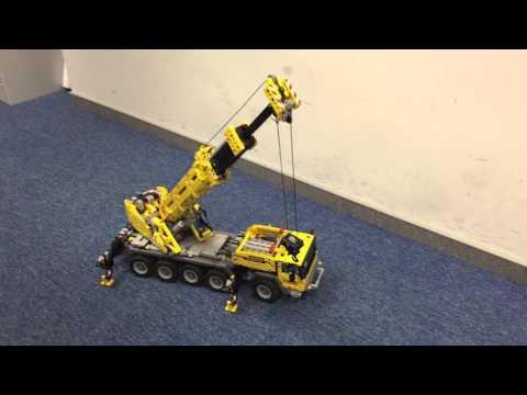 LEGO TECHNIC 4209 mobile crane full RC