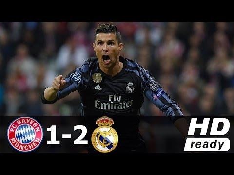 Bayern Munich vs Real Madrid 1-2 All Goals & Highlights 12/04/2017 HD thumbnail