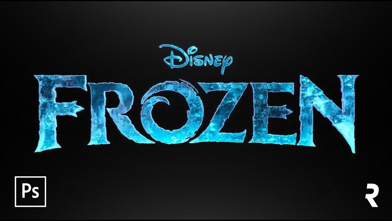 Photoshop Efeito De Texto Quot Frozen Quot Disney S Movie