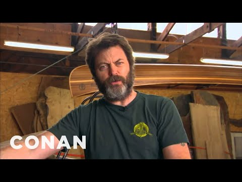 Nick Offerman Reads Tweets From Young Female Celebrities Vol. 9