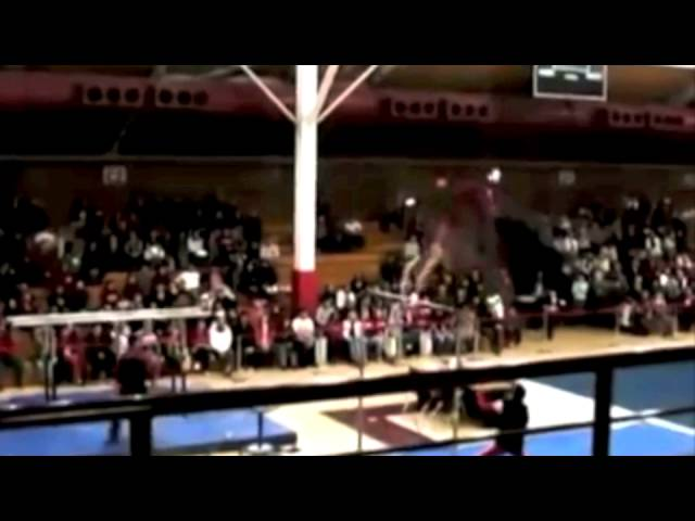 Awesome Gymnastics Release Move on High Bar!