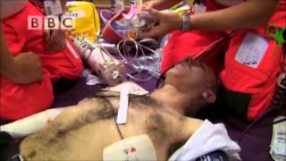 Chris Solomons Sudden Cardiac Arrest Rescue - BBC Helicopter Heroes