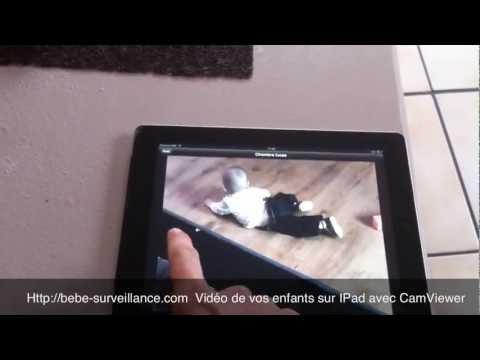 Video Surveillance Bebe Surveillance Bébé Sur Ipad et