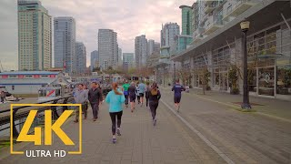 Vancouver, Canada - 4K Virtual Walking Tour Around the City
