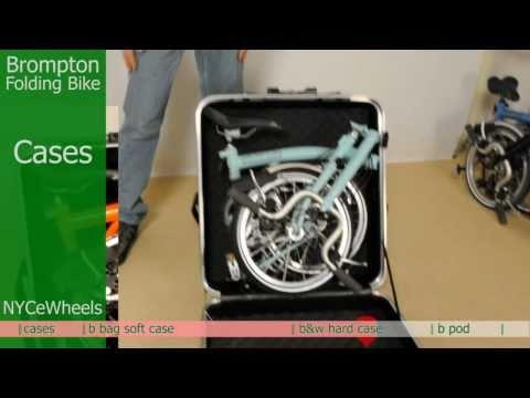 Brompton folding bike - Travel cases
