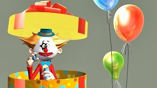 🎁 Funny Happy Birthday Song. Animation Happy Birthday To You song