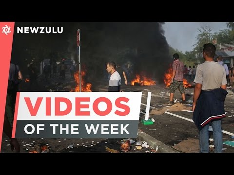Clashes between refugees & police to aftermath of Chile's earthquake | Newzulu Videos of the Week