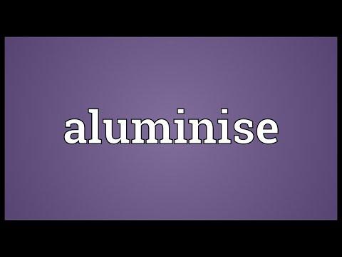 Header of aluminise