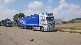 Mercedes Benz Actros 1851 Racing Edition Rundgang