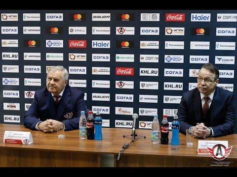 Пресс-конференция: Автомобилист - Амур 23. 11. 2016