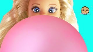Crazy Big Giant Bubble ! Challenge Video with Barbie Kids