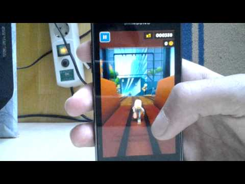 New Subway Surfers Sydney Update   Gaming on Samsung Galaxy S Advance [720p] HD
