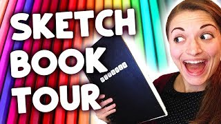 Old Sketchbook Tour! (AWKWARDLY EMBARRASSING)