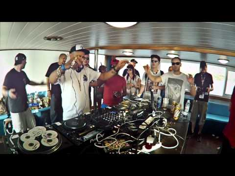 Metalheadz Boat Party Outlook Festival, Croatia 2012