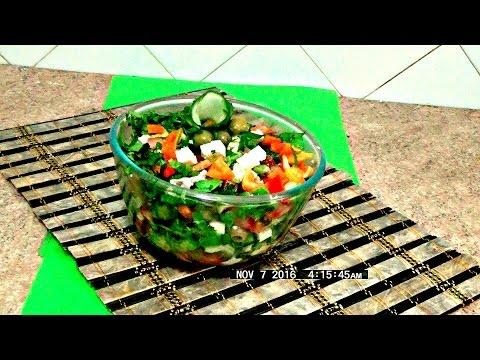 Салат с курицей и авокадо легко и просто