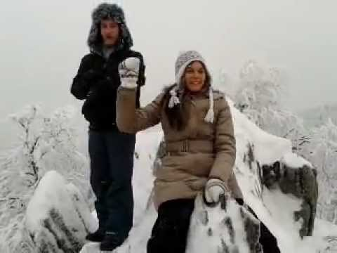 2 января, вид с горы Аваляк
