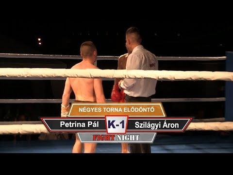 16.  Petrina Pál vs Szilágyi Áron -  Négyes torna elődöntő (K-1)