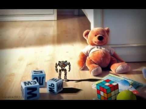 test robot juguete