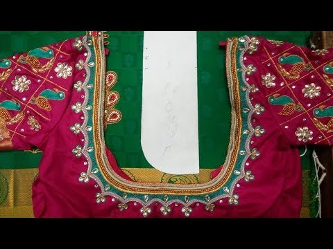 Stylish and Designer Blouse Back Neck Designs 2018  || New Blouse Design || Blouse Back Neck Models