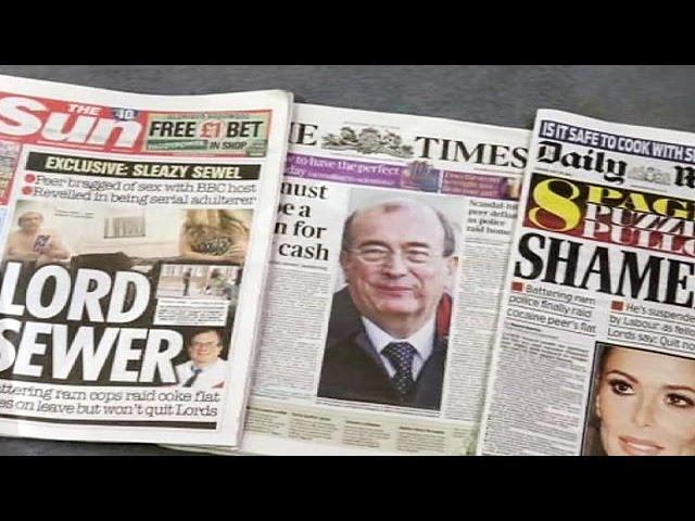 Royaume-Uni : Lord Sewel démissionne de la Chambre des Lords