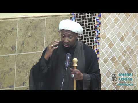 Jumah Khutbah 10/18/2019 Sheikh Sharif Ali