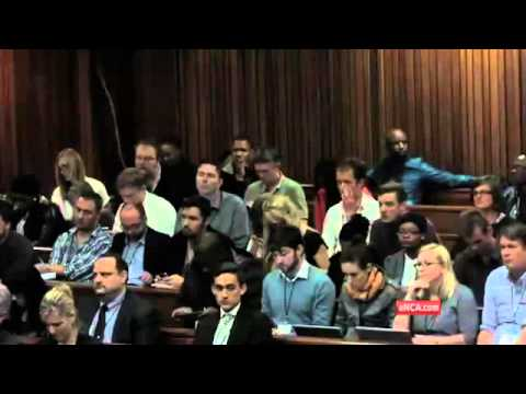 Day two of the Oscar Pistorius trial was emotional