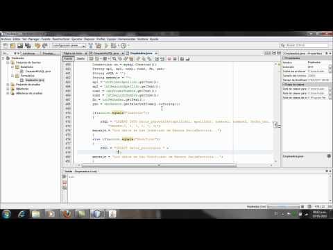 Aplicacion Java y MySQL, Netbeans - Parte7