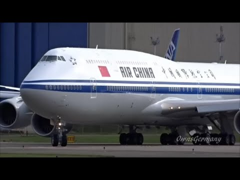 2nd Air China 747-8i Flight Test Lifts to the Sky @ KPAE Paine Field