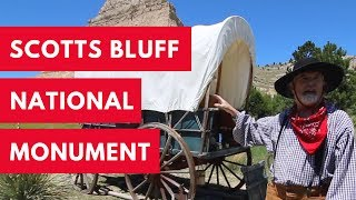 Walking the Oregon Trail and Driving to the Top of the Bluff