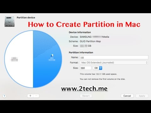 How to Create Partition in Mac