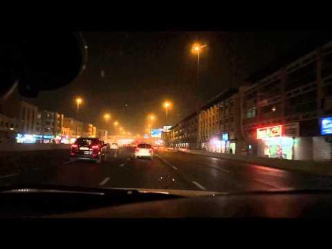 time lapse iPhone 6 - Dubai night