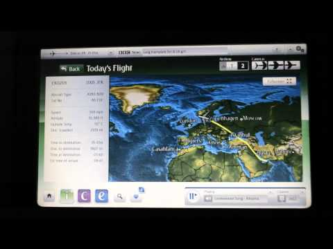 Emirates EK 203 Economy Dubai to New York JFK (A6-EDE)
