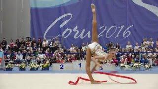 Alexandra Soldatova - Ribbon(All-around) RCh2016, Sochi